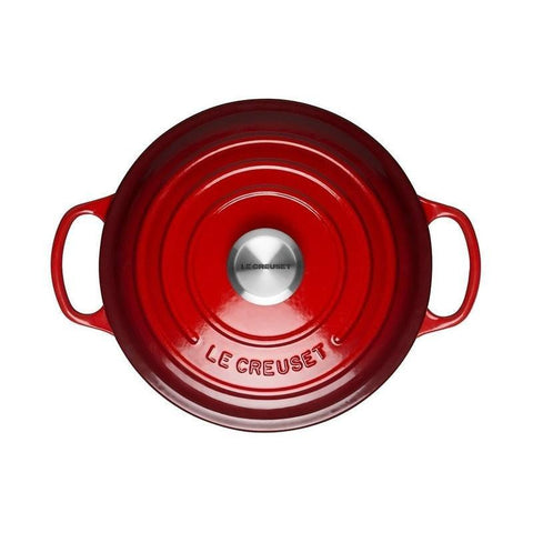 Le Creuset cast iron pot Red (24cm/26cm/28cm)