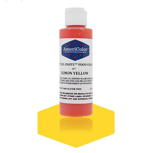 Americolor -LEMON YELLOW 4.5 oz Soft Gel Paste