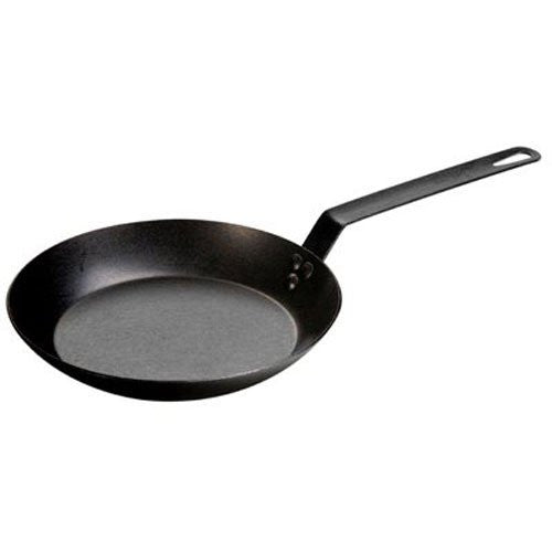 "Lodge Carbon Steel Skillet 10"" and 12 """