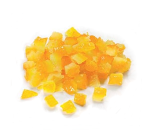 Candied Orange Peel Cubes 3 mm