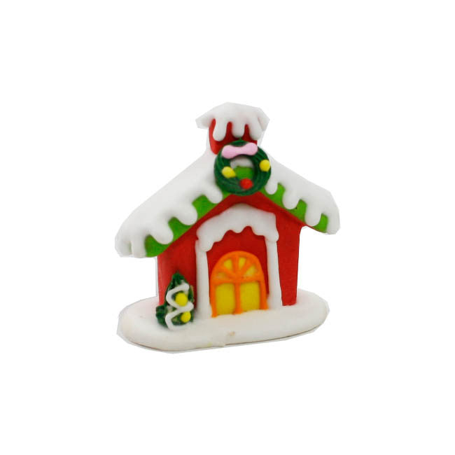 Christmas Sugar Icing decoration-sugar house