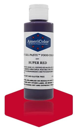 Super Red 4.5oz AmeriColor