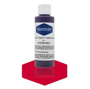 Americolor -SUPER RED 4.5 oz Soft Gel Paste