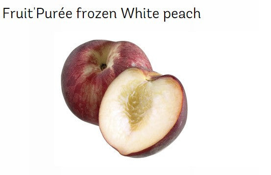 Frozen White Peach Puree*self pick up only