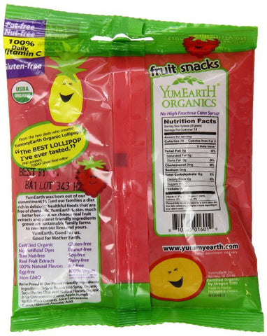 Yumearth fruit snacks - 2oz