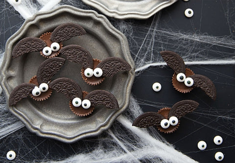 Mini Chocolate Bat Bites Halloween Kids Snack