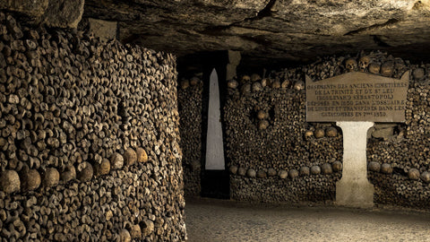 image credit to catacombes.paris.fr