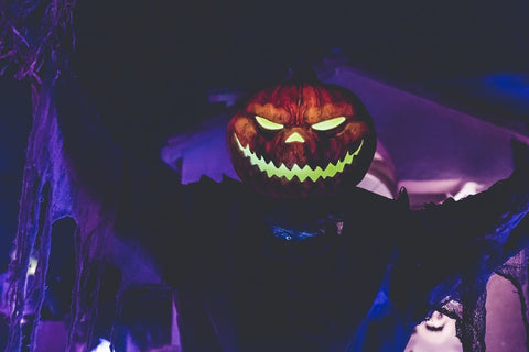 scary Pumpkin head prop