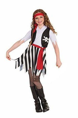 Little Lady Buccaneer Pirate Costume