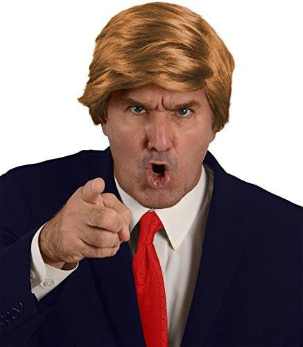 Mr. President Billionaire Halloween Costume Wig