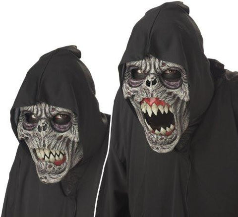 Men's Evil Demon Animated Mask