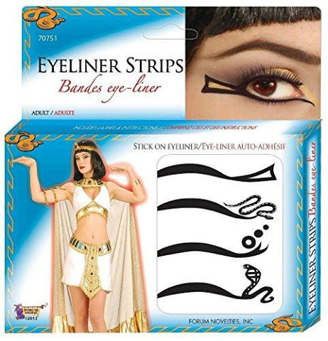 Image of Women's Cleopatra Adhesive Eyeliner Strips Kit