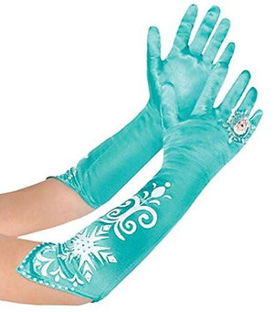 Disney Frozen Long Elsa Costume Gloves