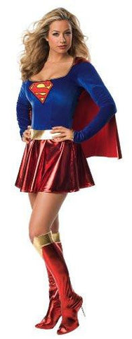 Image of Supergirl Cosplay Comics Superman Women's Costume