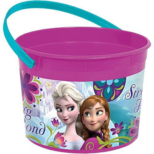 Disney Frozin Elsa and Anna Trick-or-Treat Pail Bucket