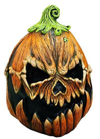 Pumpkin Scary Adult Halloween Latex Mask