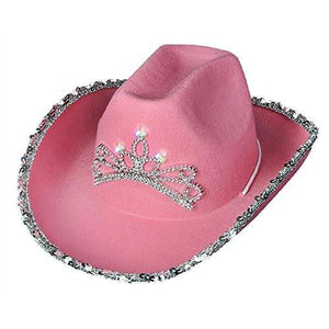 Pink Girls Cowboy Hat