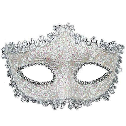 Lace with Rhinestone Venetian Mask Masquerade Women's Mask