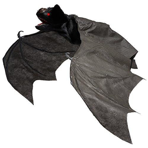 Giant 30 Inch Animated Hanging Bat