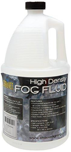 Chauvet High Density Fog Fluid - One Gallon