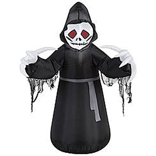 Halloween Scary Grim Reaper Inflatable 3.5 ft