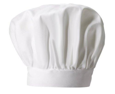 White Adult Chef Hat