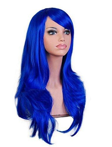 Image of Women's Long Synthetic Hair Costume Wig, 8 Colors