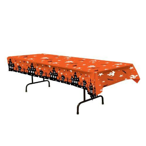 Haunted House Tablecover Party Accessory 54 Inch x 108 inch