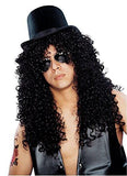 Men's Curly Rocker Wig