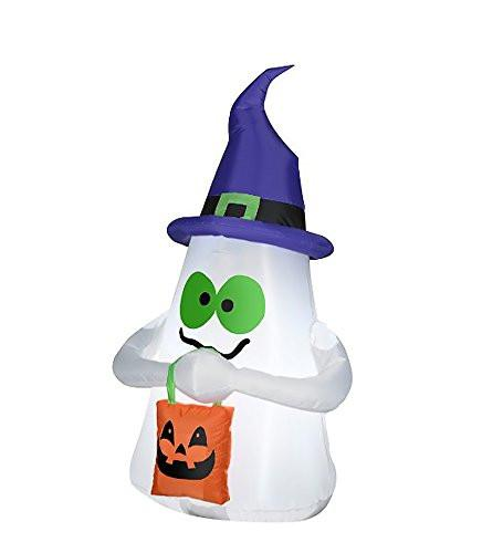 Airblown Inflatable Light Up Halloween Decorations Outdoor 3.5 ft Tall Ghost