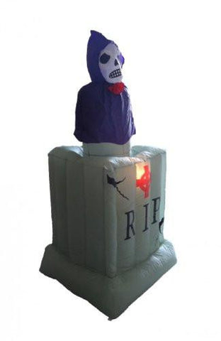 6 Foot Animated Halloween Inflatable Ghost from Tombstone