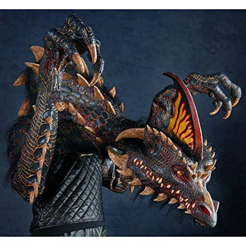 The Nightmare Collection - Smolder - The Black Dragon Adult Costume