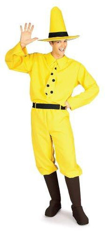 Curious George Man In The Hat, Yellow/Black