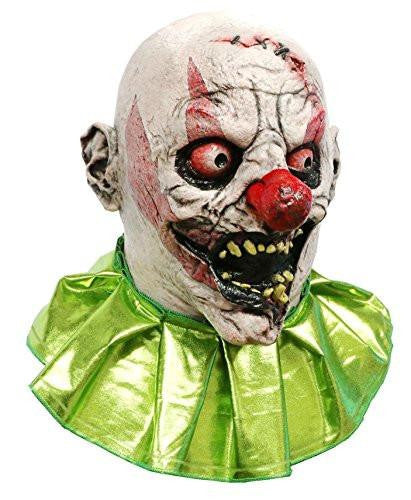 Stitches The Clown Scary Adult Halloween Latex Mask