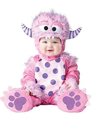Baby Girls' Lil' Monster Costume, Pink