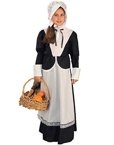 Image of girls pilgrim dress