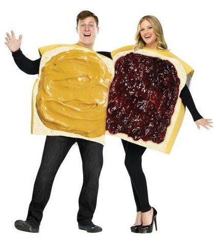Image of Peanut Butter And Jelly Couples Costume