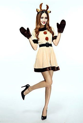Women's Reindeer Costume