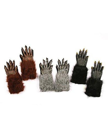 Image of Werewolf Hands Adult Gloves
