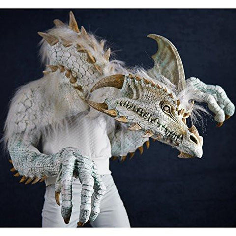 Image of The Nightmare Collection - Cinder - The White Dragon Adult Costume