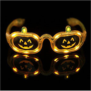 Light up Children Adult Pumpkin Eyewear