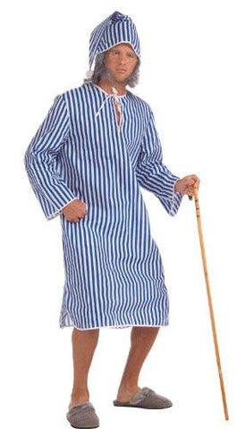 Image of Ebenezer Scrooge nightgown