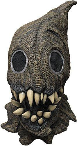 Fanged Sack Monster Scary Scarecrow Latex Halloween Horror Head and Neck Mask