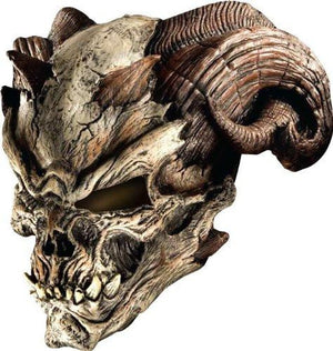 Cave Demon Latex Mask Costume