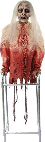 Limbless Libby Animated Zombie Prop
