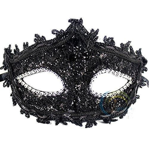 Image of Black Masquerade mask