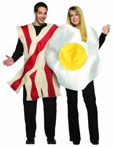 Bacon and Eggs Couples Costume