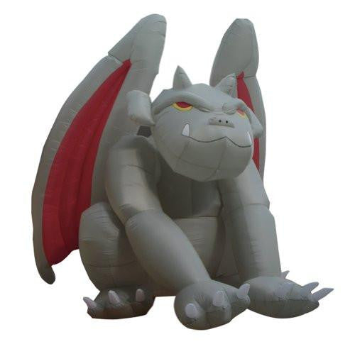 8 Foot Huge Halloween Inflatable Gargoyle Monster