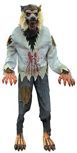 Life-Sized Lurching Werewolf Animated Prop