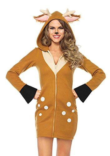 Adult Deer Reindeer Womens Costume